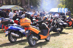 The biker-fest 2012. Stock Photos