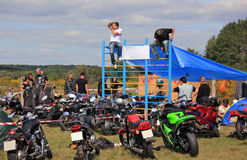 The biker-fest. Stock Photos