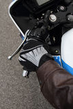 Biker glove Royalty Free Stock Image