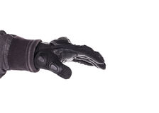 Biker Glove on white background Royalty Free Stock Image