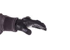 Biker Glove on white background. Biker Glove isolated on white background Royalty Free Stock Image