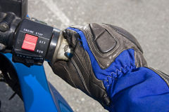 Biker gloves Royalty Free Stock Photos