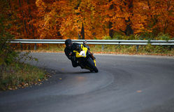 Free Biker In Autumn Royalty Free Stock Images - 21974679