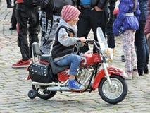 Biker meeting Stock Images