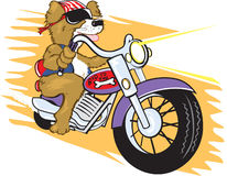 Biker Mutt Stock Photo