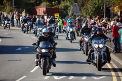Biker Rally Stock Photo