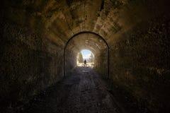 Tremalzo tunnel Stock Images