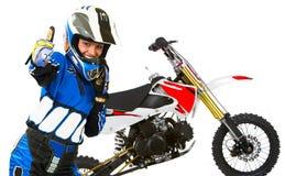 Biker woman Royalty Free Stock Images