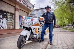 Biker-World Traveler/ Stock Images