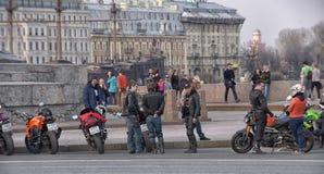 bikers Imagens de Stock