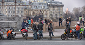 bikers Immagini Stock