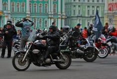 bikers Fotografia Stock Libera da Diritti