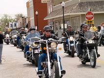 Bikers For Charity Stock Photos