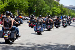 Bikers DC Stock Image