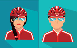 Bikers design Royalty Free Stock Photo