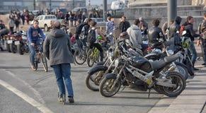 Bikers Royalty Free Stock Photos