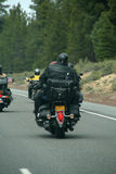 Bikers - motorcycles & leather Royalty Free Stock Image