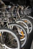 bikes арендуют к Стоковое Изображение