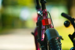 Bikes. Abstract soft focus photo of mountain bikes royalty free stock photo