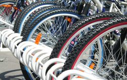 Bikes Royalty Free Stock Photo