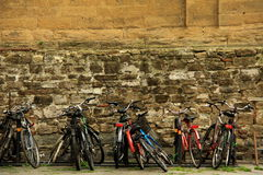 Bikes Royalty Free Stock Photography
