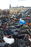 Bikes Amsterdam Stock Images