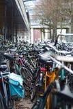 Bikes Amsterdam Stock Photos