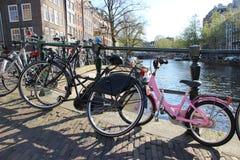 bikes amsterdam Стоковое Изображение