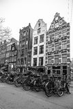 Bikes of Amsterdam royalty free stock images