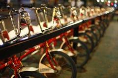 Bikes in Barcelona Stock Image