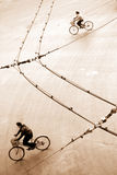 Bikes a composição Fotografia de Stock Royalty Free
