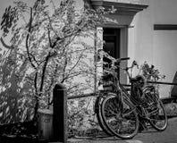 Bikes everywhere in Amsterdam Royalty Free Stock Photos