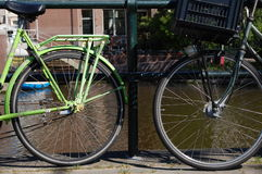 Bikes in Holland Stock Image