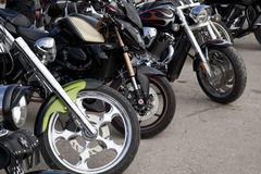 Free Bikes In A Row Royalty Free Stock Images - 34420819