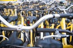 Bikes parking Royalty Free Stock Photo