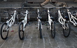 Bikes For Rent Royalty Free Stock Photos
