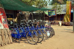 Bikes for rent Stock Photography