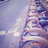 Bikes for Rent Royalty Free Stock Photography