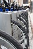 Bikes for rental,NYC, USA Stock Photography