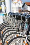 Bikes in Santander Stock Photo