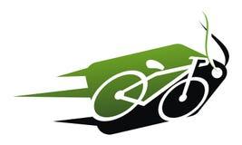 Bikes Shop Logo Design Template. Vector Stock Image