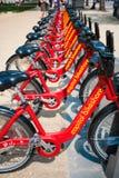 Bikeshare stockfotografie