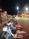 Bikeshare stock image