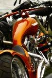 bikeshowdetalj Royaltyfri Bild