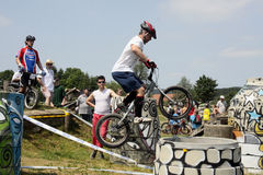 Biketrial Czech Championship Stock Photography