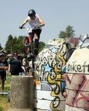 Biketrial Czech Championship Stock Photography