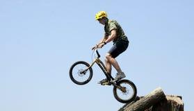 biketrial mistrzostwo Czech Obrazy Royalty Free