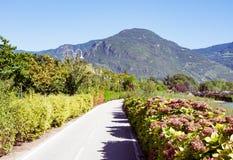 Bikeway in Bolzano Royalty Free Stock Photography