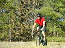 biking βουνό Στοκ Εικόνα