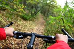 Biking Imagens de Stock